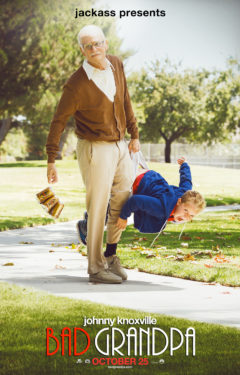 Movie poster for Bad Grandpa.