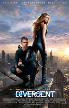 Movie poster for Divergent.