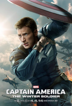 """Captain America: The Winter Soldier"" stars Chris Evans, Samuel L. Jackson and Scarlett Johansson."