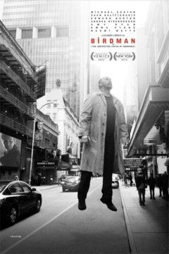 Movie poster for Birdman.