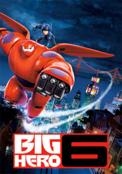Movie poster for Big Hero 6.