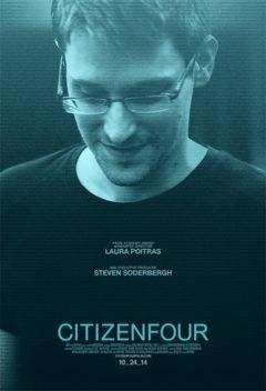 """Citizenfour,"" a documentary about whistleblower Edward Snowden, won an Academy Award."