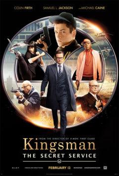 Movie poster for Kingsman: The Secret Service