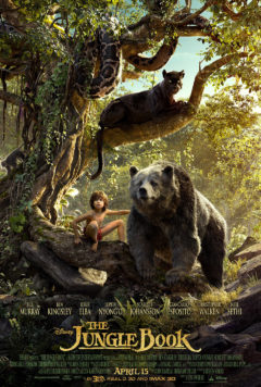 """Disney's remake of """"The Jungle Book"""" includes the voices of actors such as Ben Kingsley, Bill Murray, Christopher Walken, and Scarlett Johansson."""