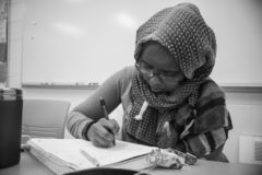 When Ibrahim made the decision to go to college, her family wasn't totally behind her at first.