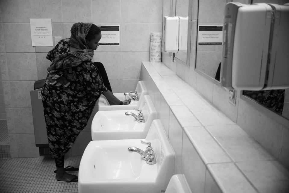 Wudu is the act of cleaning oneself before prayer.