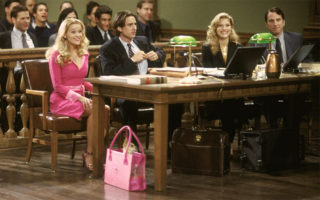 Reese Witherspoon stars as law student Elle Woods in the 2001 comedy Legally Blonde. (Metro Goldwyn Mayer)